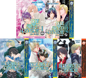 Blue-Sheep-Reverie-Vol-1-2-3-4-5-Graphic-Novel-Yaoi-Manga-NEW