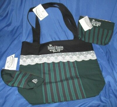 Haunted Mansion Costumes (HAUNTED MANSION Disney Cast Costume Collection Set ~Tote Bag w/2 Accessory)