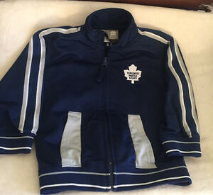 Toronto Maple Leafs spring jacket/sweater size 24m
