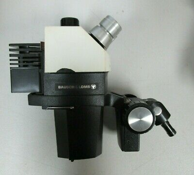 Bausch Lomb Stereozoom 7 Microscope Head Wlight Holder E-arm