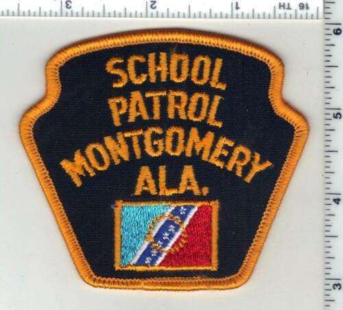 Montgomery School Patrol (Alabama) 1st Issue Shoulder Patch