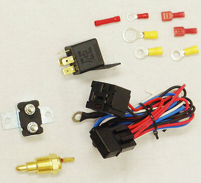 100% Brand Electric Fan Relay With Thermostat Hardware Kit 180 To 200