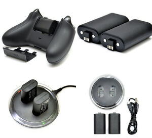 2x-Rechargeable-Battery-Charging-Charge-Dock-Station-for-XBOX-ONE-Controller