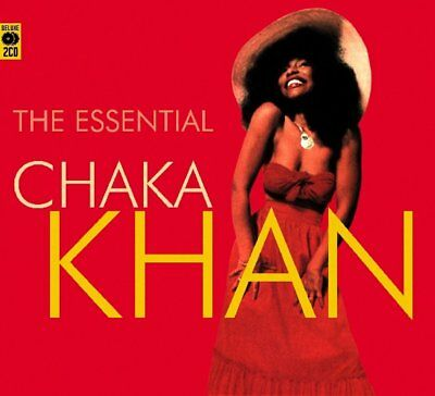 Chaka Khan The Essential Best Of 33 Original Recordings Collection New 2 Cd