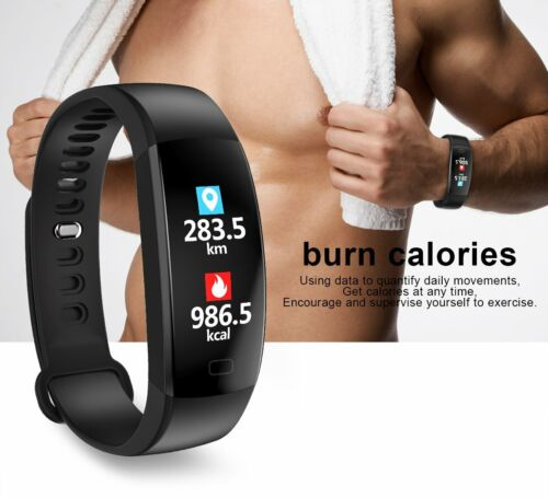 Smart Watch Band Heart Rate Monitor Step Counter Fitness Tra