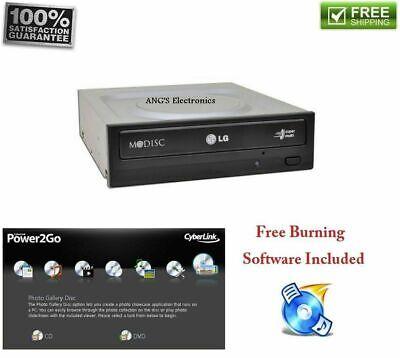 LG DESKTOP SATA Internal Optical Drive CD/DVD/MP3 Writer Burner M-Disc Support