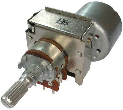 Motorpotentiometer RC1601 20KC A10Kx2 Audio, 3-5V Kx Audio