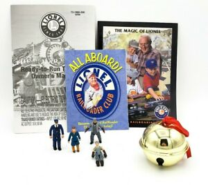 Lionel-THE-POLAR-EXPRESS-O-Scale-Children-People-Bell-amp-Manuals