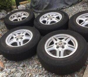 4 crv wheels with tires