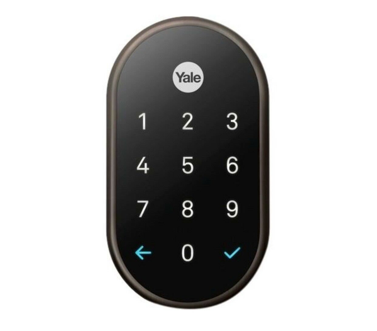 Details about Nest x Yale Lock Connect Smart Door lock Oil Rubbed Bronze  RB-YR540-WV-OBP