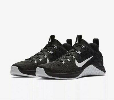 Nike METCON DSX FLYKNIT 2 UK 4 EU 37.5 Black Crossfit Women's 924595-001
