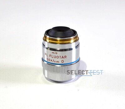 Leitz Wetzlar 567017 Objective Lense 0 Pl Fluotar 50x0.85d