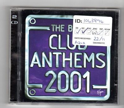 (IO343) The Best Club Anthems 2001, 41 tracks - 2000 double