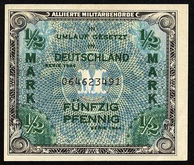 Ro.200a Alliierte Besetzung 1/2 Mark 1944 (2)