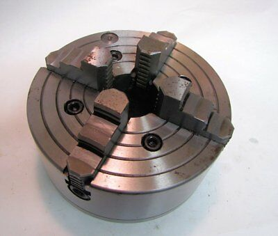 8 4-jaw Chuck For Lathe Unknown Brand New
