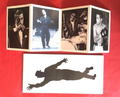 Sammy Davis Jr Book YES I CAN with 4 Black and White Picture Postcards