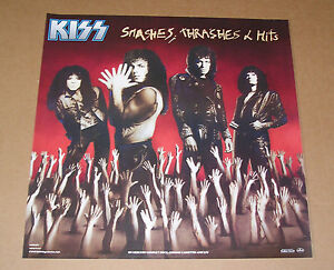 Kiss-Smashes-Thrashes-and-Hits-Original-Promo-1988-Poster-24-x-24