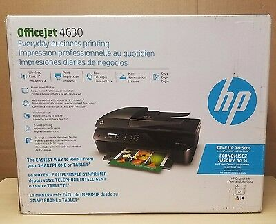 Hp Officejet 4630 Wireless All In One Color Printer  Discontinued By Manufacture