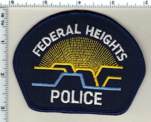 Federal Heights Police (Colorado) Shoulder Patch - new from 1992