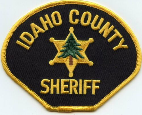 IDAHO COUNTY IDAHO ID SHERIFF POLICE PATCH