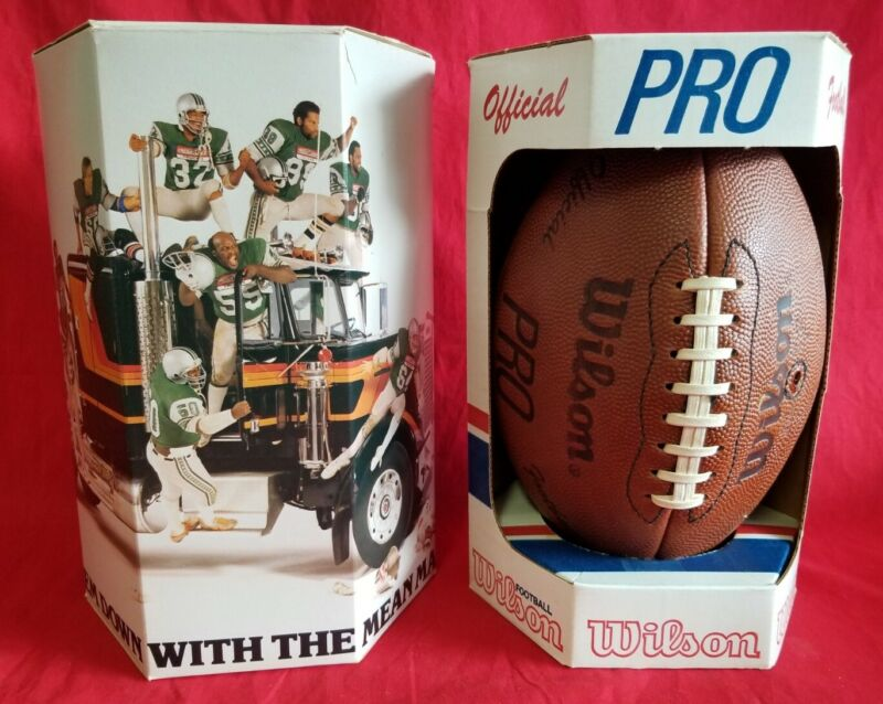 Vintage Rare NOS 1982 Wilson PRO Official Football New Unused!