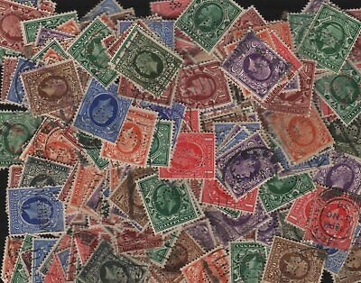 KGV Solids Perfin Lot of 750+ Different Design Faces