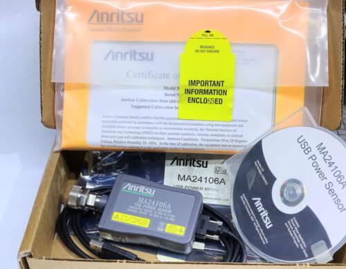 Anritsu MA24106A USB RF Precision Power Meter 50-6000 MHz