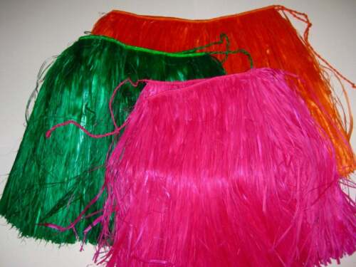 Short Grass Skirts Hula Authentic One Size Tahitian Skirts Island Couture