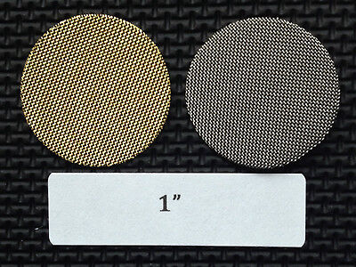 1 Inch Brass Tobacco Pipe Screen Filters   10 Count Lot   High Quality