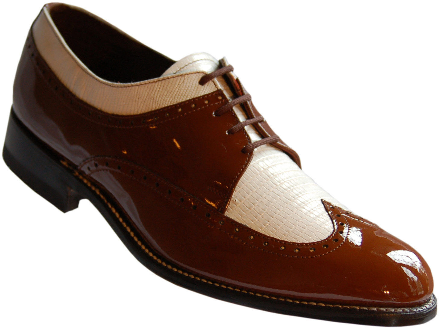 Mens Two Tone Spectator Shoes