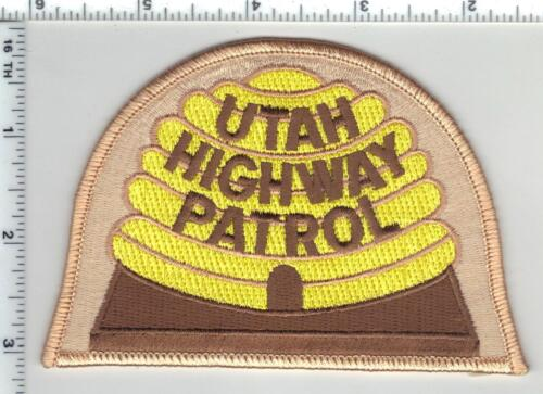 Highway Patrol (Utah) 3rd Issue Shoulder Patch from the 1980