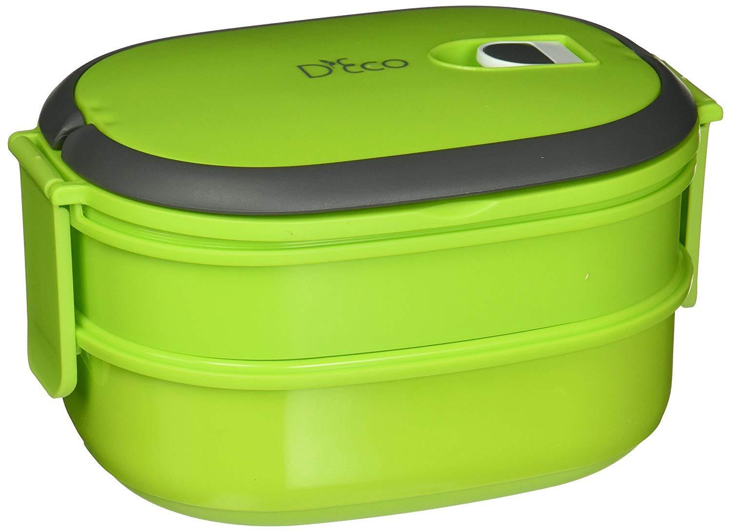 Kitchen & Dining Microwavable Lunch Box- Stacking Two Tier T