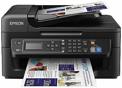 Epson WF-2630 Wireless All in One Printer With Ink Scanner Copier Fax Wi-Fi Wifi