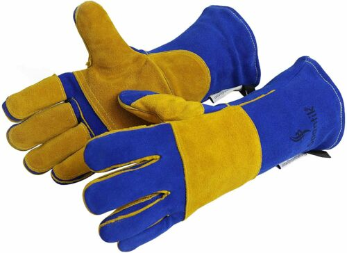 Spantik Welder Premium Double Buffalo Cowhide Leather Welding Gloves
