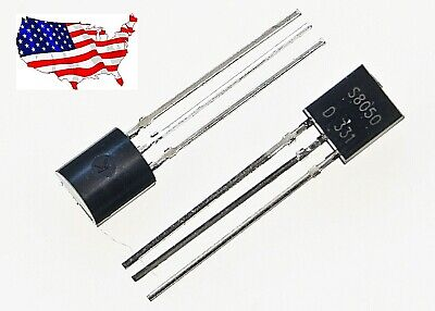 S8050 20 Pcs To-92 1.5a 0.625w Npn Audio Transistor - From Usa