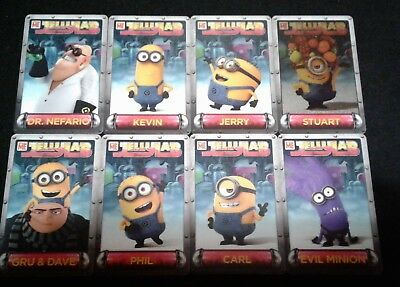 Dave and Buster's Despicable Me Minion's Jelly Lab Card Lot Incl. Evil Minion](Minion Dave)
