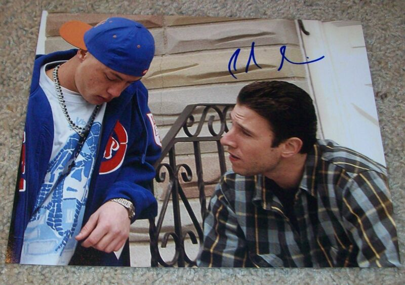 PABLO SCHREIBER SIGNED ORANGE IS THE NEW BLACK THE WIRE 8x10 PHOTO w/EXACT PROOF