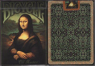Old Masters Deck Bicycle Playing Cards Poker Size USPCC Limited Edition New