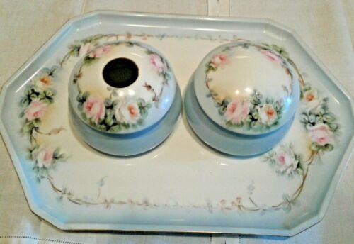 Vintage 3 Piece Porcelain Vanity Set
