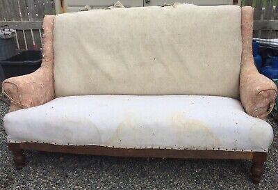 Antique Victorian Elegant Sofa
