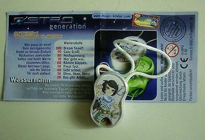 """""""Die Astro Generation"""" 2005 WASSERMANN, Aquarus mit BPZ DEUTSCH"""