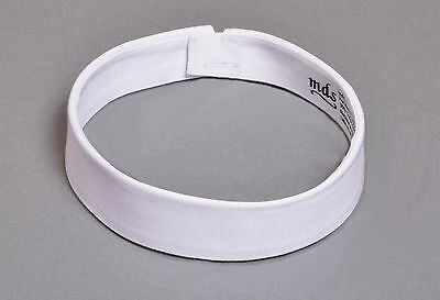 - mds Fabric Neckband Clerical Collar 100% Cotton