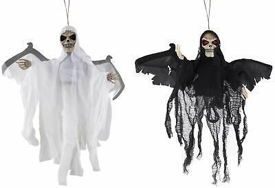 Geist Skelett mit Bewegung Licht animiert Halloween Hängedeko - Animierte Halloween Skelett