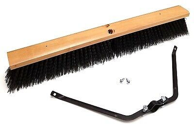 24 Rough-surface Push Broom Head With Broom Brace