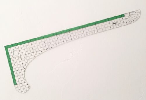 BROTHER L-SHAPED RULER **New** Full Scale, Centimeters - Mfg