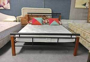 TODAY DELIVERY MODERN Queen bed & COMFORTABLE mattress SALE NOW Belmont Belmont Area Preview