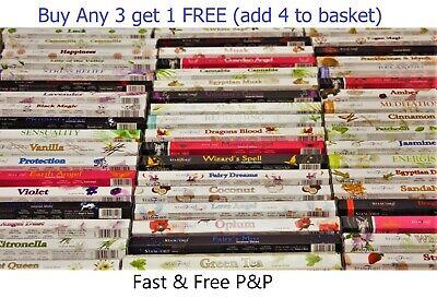 Incense Sticks Stamford Insence - Burning Insense Buy 3 get 1 FREE Incence