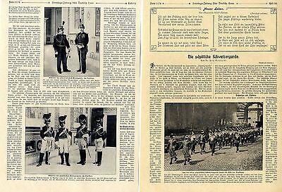 Die päpstliche Schweizergarde ( mit ) historischen Aufnahmen von 1913