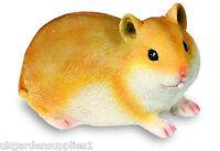 Resin Light Brown Hamster Ornament - Figure - Animal Statue - Garden Ornament - light - ebay.co.uk