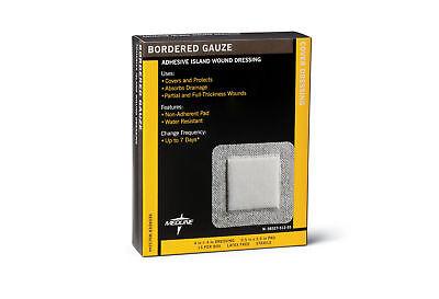 4 X 4 Gauze Pads (Medline Sterile Bordered Gauze - 4